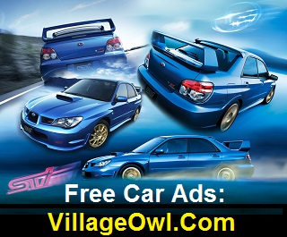 Free Car Ads on Village Owl