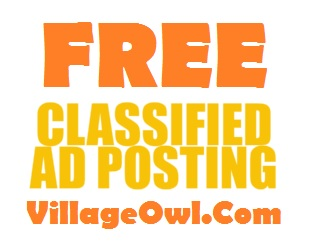 Free Clasified Ads on Village Owl